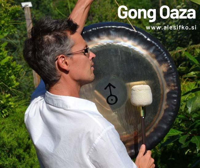 meditacija z gongi ~ Gong Oaza