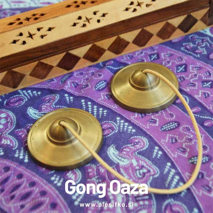 tingša ~ zvočna gong kopel ~ Gong Oaza