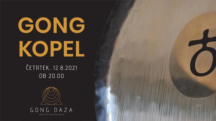Gong kopel za sprostitev telesa in uma