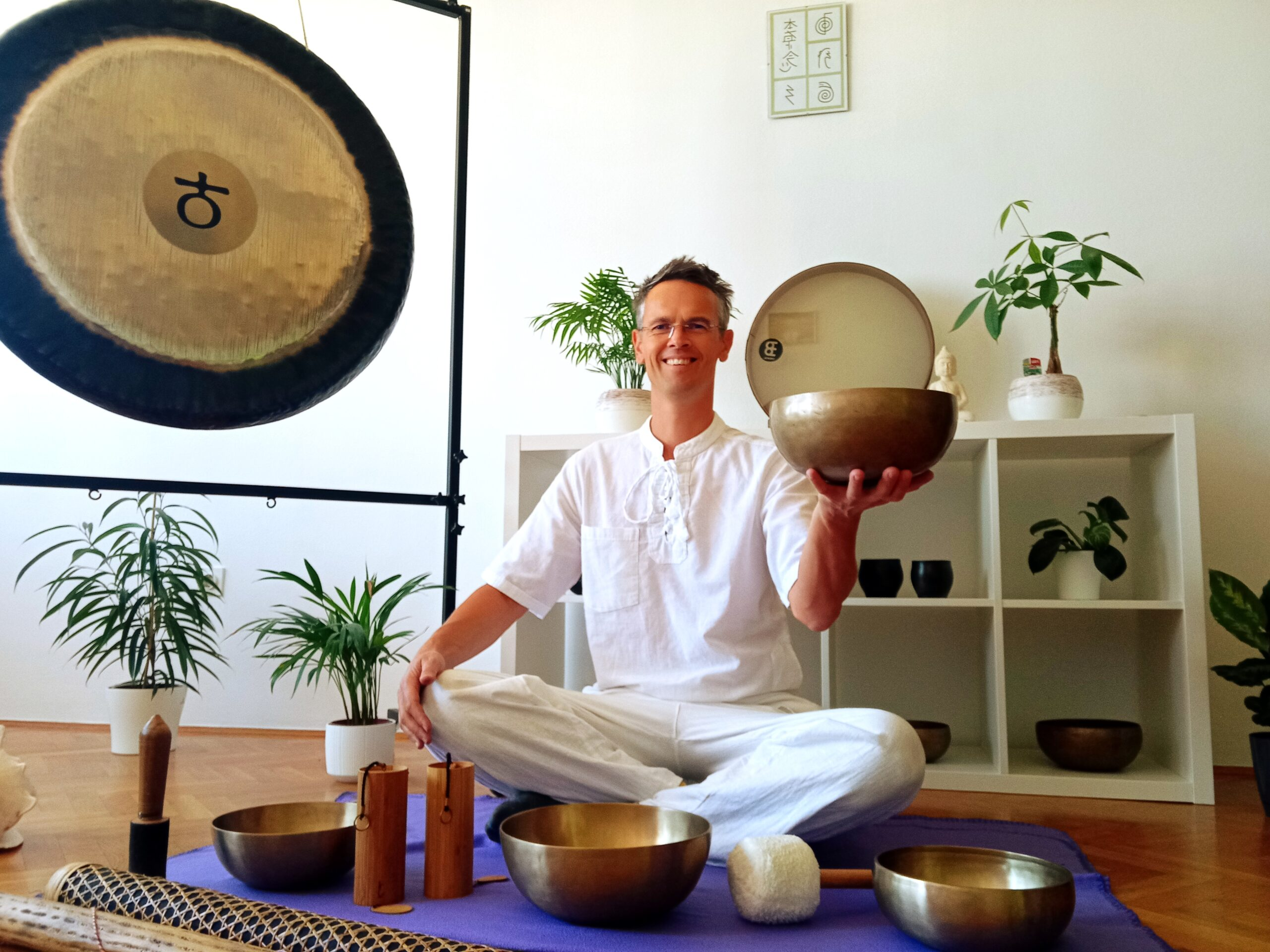 Gong in Univerzalna življenjska energija Reiki